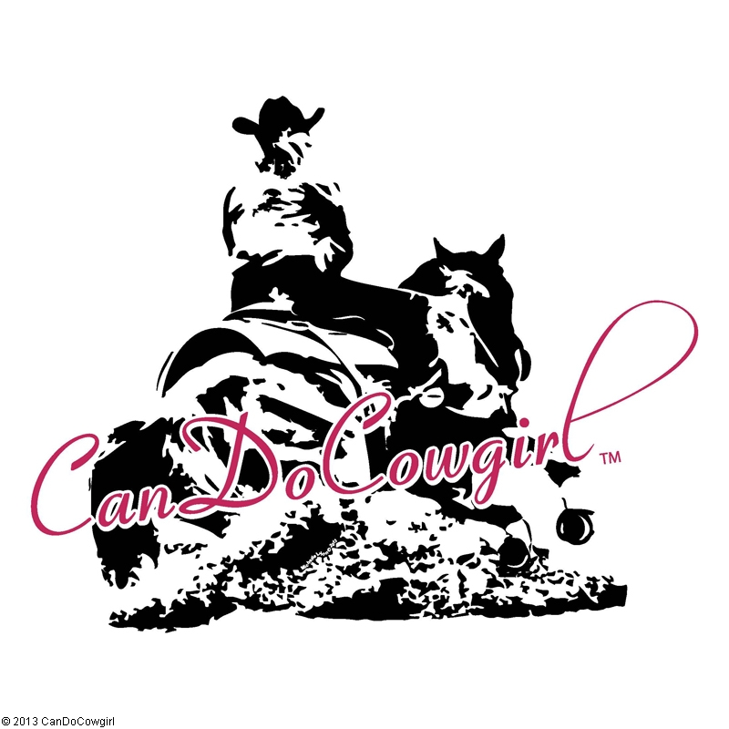 52 Quot Candocowgirl Horse And Rider Vinyl Decal Candocowgirl