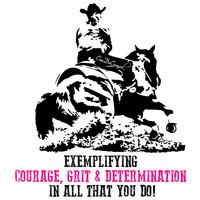 CanDoCowgirl Poster - Exemplifying Courage