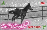 CanDoCowgirl Gift Card - $20
